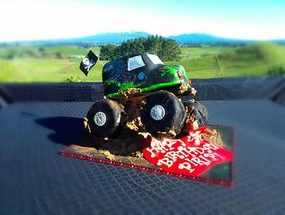 Monster Truck Cake - Cake by Take The Cake