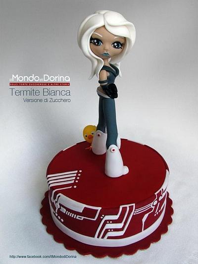 Termite Bianca in Cake Design - Cake by IlMondodiDorina