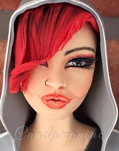 Debbie - Cake by Mania M. - CandymaniaC