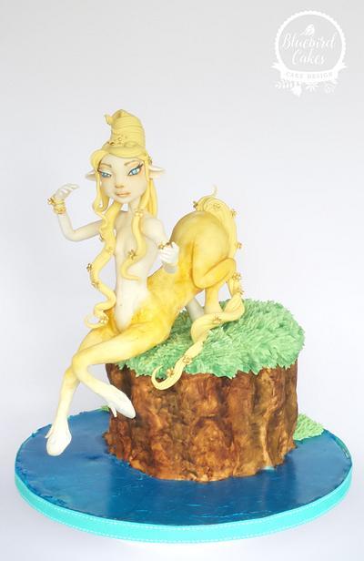 Sugar Myths & Fantasies Global Edition Collaboration - Female Centaur - Cake by Zoe Smith Bluebird-cakes