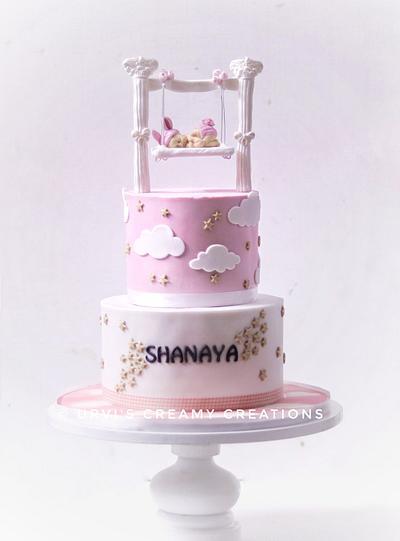 Baby Girl - Cake by Urvi Zaveri