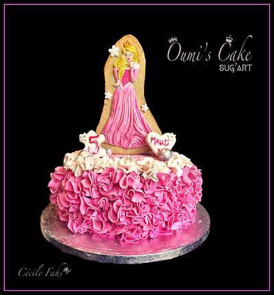 Princesse Aurora Cake - Cake by Cécile Fahs