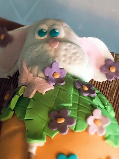 hungry bunny - Cake by Tania's Delights