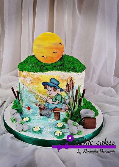 Fishing cake - Cake by Radmila