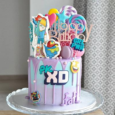 Pk Xd cake - Cake by rincondulcebysusana