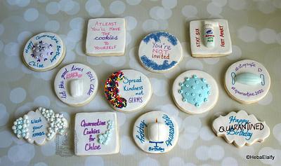 Chloe's quarantine birthday cookies - Cake by Sweet Dreams by Heba