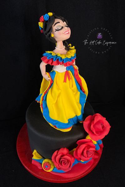 COLOMBIA dulce por descubrir - Cake by Cristina Arévalo- The Art Cake Experience