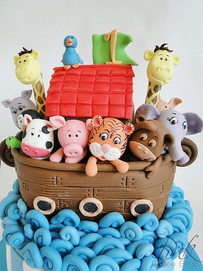 Noah's Ark Cake - Cake by Rose