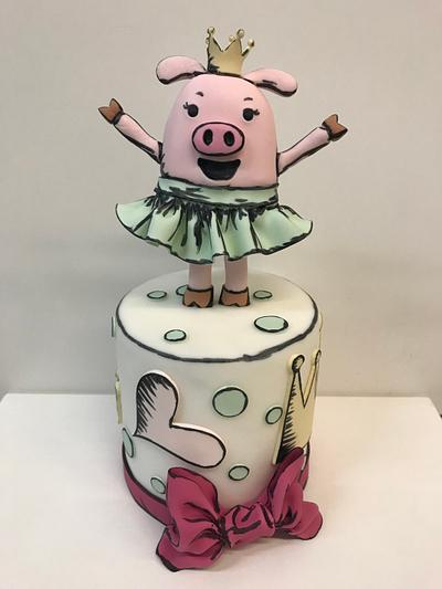 Pig - Cake by Jolanta Nowocin