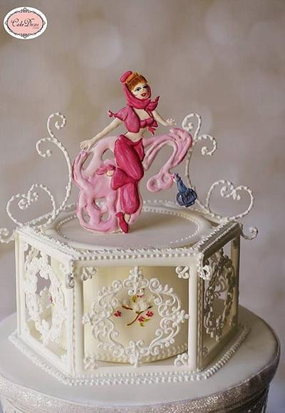 Genie-Sugar Myths &Fantasies Collaboration  - Cake by Prachi Dhabaldeb