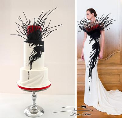 Couture Cakers International 2018: 'Branches' - Cake by Dolce Dita