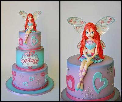 Winx - Cake by ArchiCAKEture