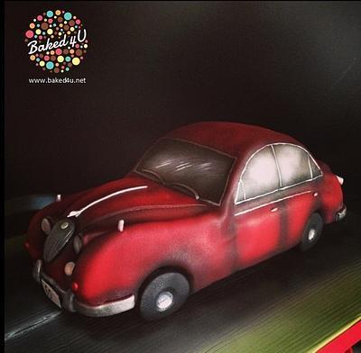 Jaguar Car  - Cake by Baked4U