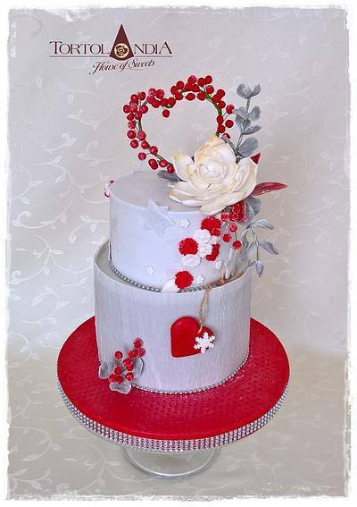 White Christmas - Cake by Tortolandia