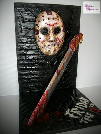 Friday the 13th Cakensteins Monsters Collaboration  - Cake by Baking Memories Jo
