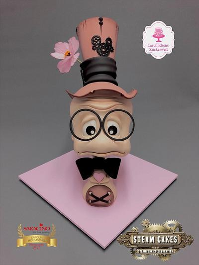 Steampunk Worm Baptiste  - Cake by Carolinchens Zuckerwelt