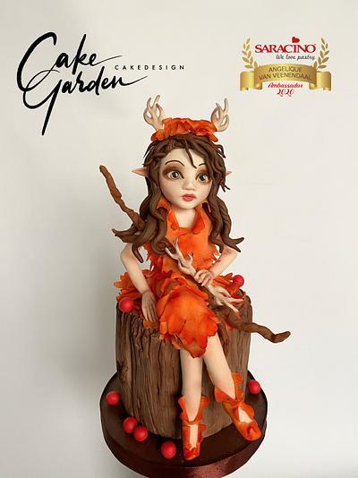 Autumn fairy - Cake by Cake Garden