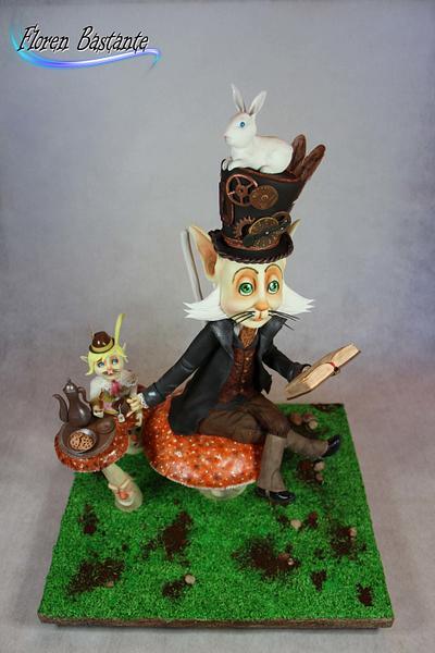 Tea time - bcnandcake modeling contest - Cake by Floren Bastante / Dulces el inflón
