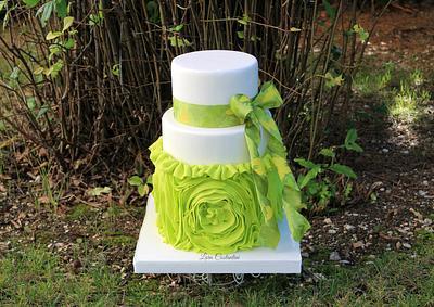 GREEN AUTUMN - Cake by Lara Costantini