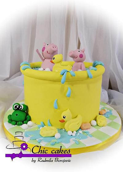 Peppa Pig cake - Cake by Radmila