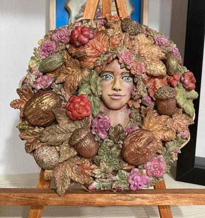 Dama de Otoño  - Cake by Yolanda
