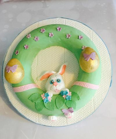 Hoppy easter - Cake by Tania's Delights