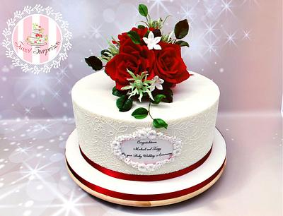 Ruby rose - Cake by Sweet Surprizes