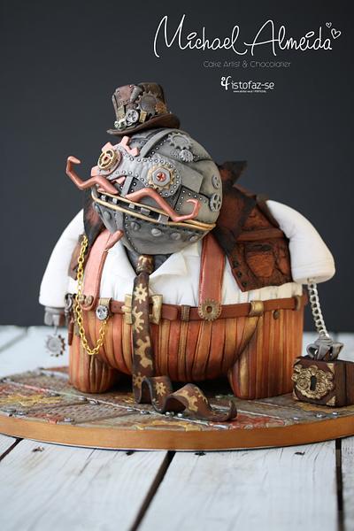 Spunkie - @Steam Cakes - Steampunk Collaboration - Cake by Michael Almeida