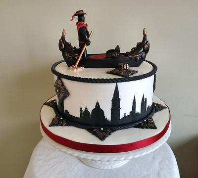 Gondola In Venice :) x - Cake by Storyteller Cakes