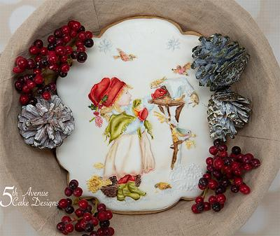 Caring for the Winter Birds - Cake by Bobbie