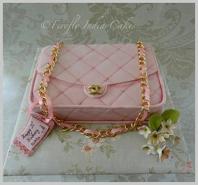Baby Pink Chanel - Cake by Firefly India by Pavani Kaur