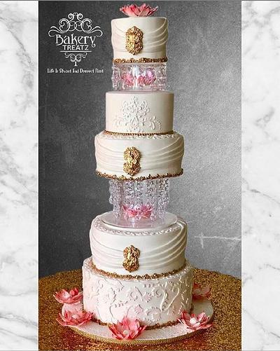 Lotus Flower Cake - Cake by MsTreatz