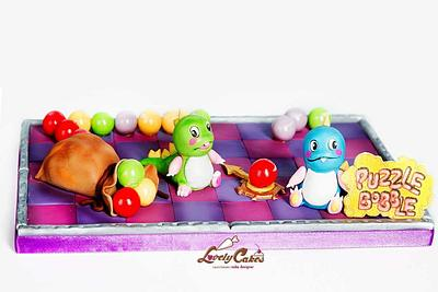 Puzzle Bobble - Cake by Lovely Cakes di Daluiso Laura
