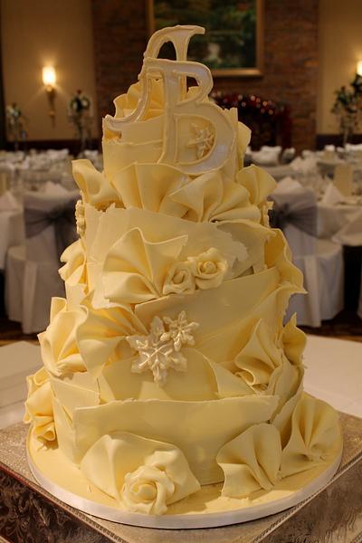 Chocolate winter Wonderland - Cake by Patricia