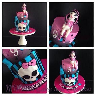 Monster High! Draculaura - Cake by Mmmm cakes and cupcakes