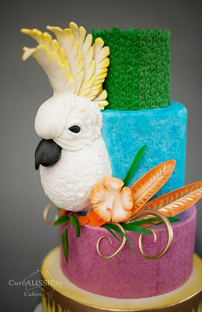 Carnival Cockatoo!!!! - Cake by CuriAUSSIEty  Cakes