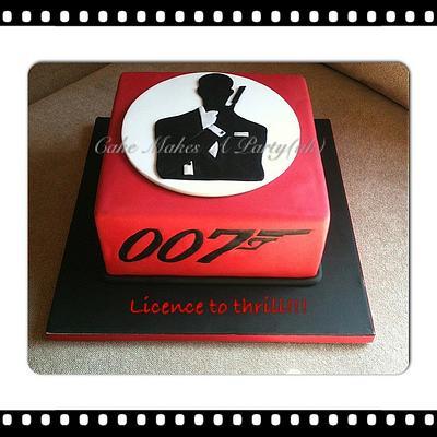 James Bond 007 Cake - Cake by Mandy