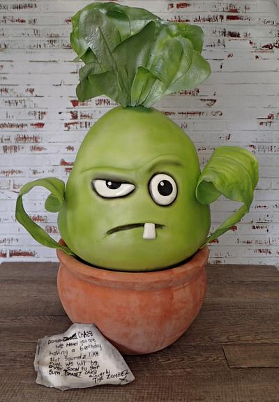 Plant Vs Zombies Bonk Choy - Cake by LJay -Sugar Goblin Cakes