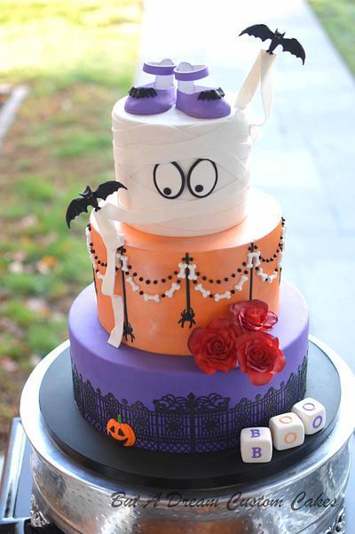 Halloween Baby Shower - Cake by Elisabeth Palatiello