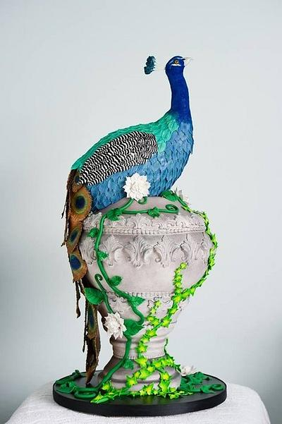 Fred the peacock! - Cake by Cakes By Heather Jane