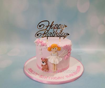 Little Girl - Cake by Urvi Zaveri