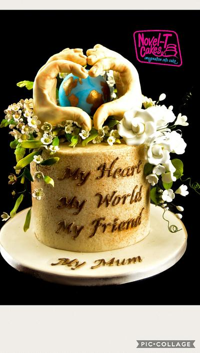 Love is... - Cake by Novel-T Cakes