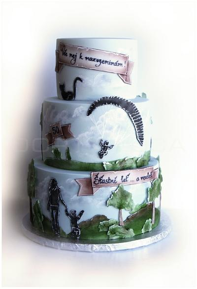 Paraglaiding - Cake by Dorty LuCa