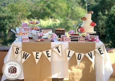 """Sweet table """"Sweet Love"""" - Mericakes - Cake by Mericakes"""