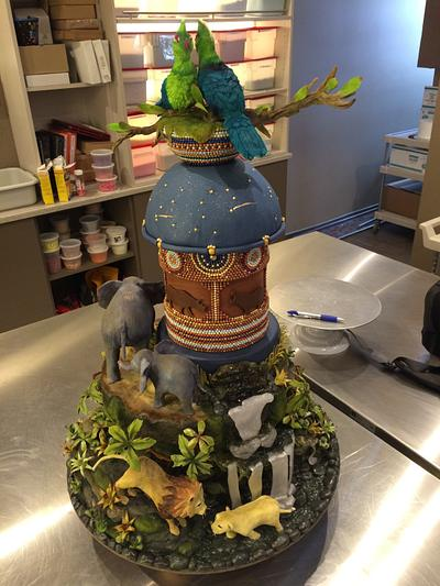 The Lion King - Cake by Bryson Perkins