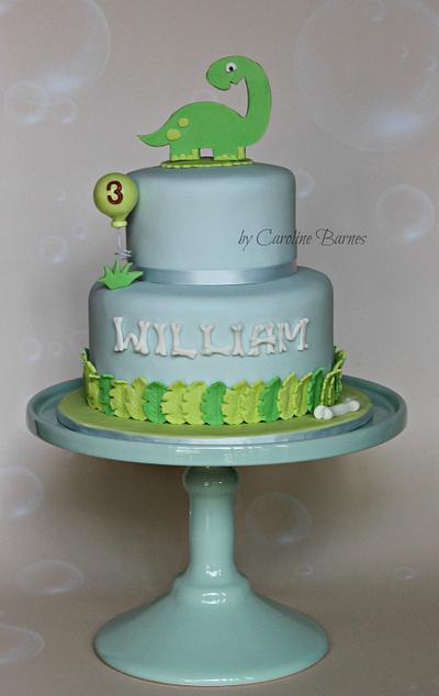 Dinosaur Cake - Cake by Love Cake Create