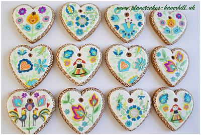 Polish Folk Easter Cookies - Cake by Planet Cakes
