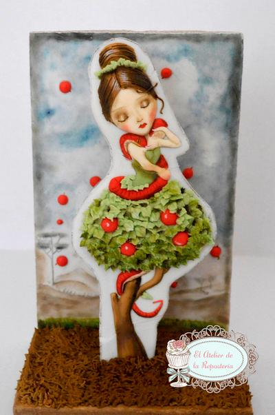 Colaboración Sugar Myths and Fantasies 2.0 - Cake by El Atelier de la Repostería