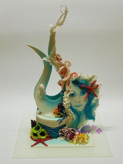 Magical Ocean - Cake by Sladky svet