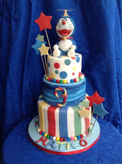 Doraemon cake - Cake by Dolcemi